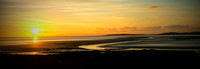 Morecambe Bay sunset.