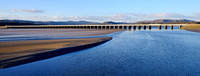 Railbridge, Arnside, Cumbria.